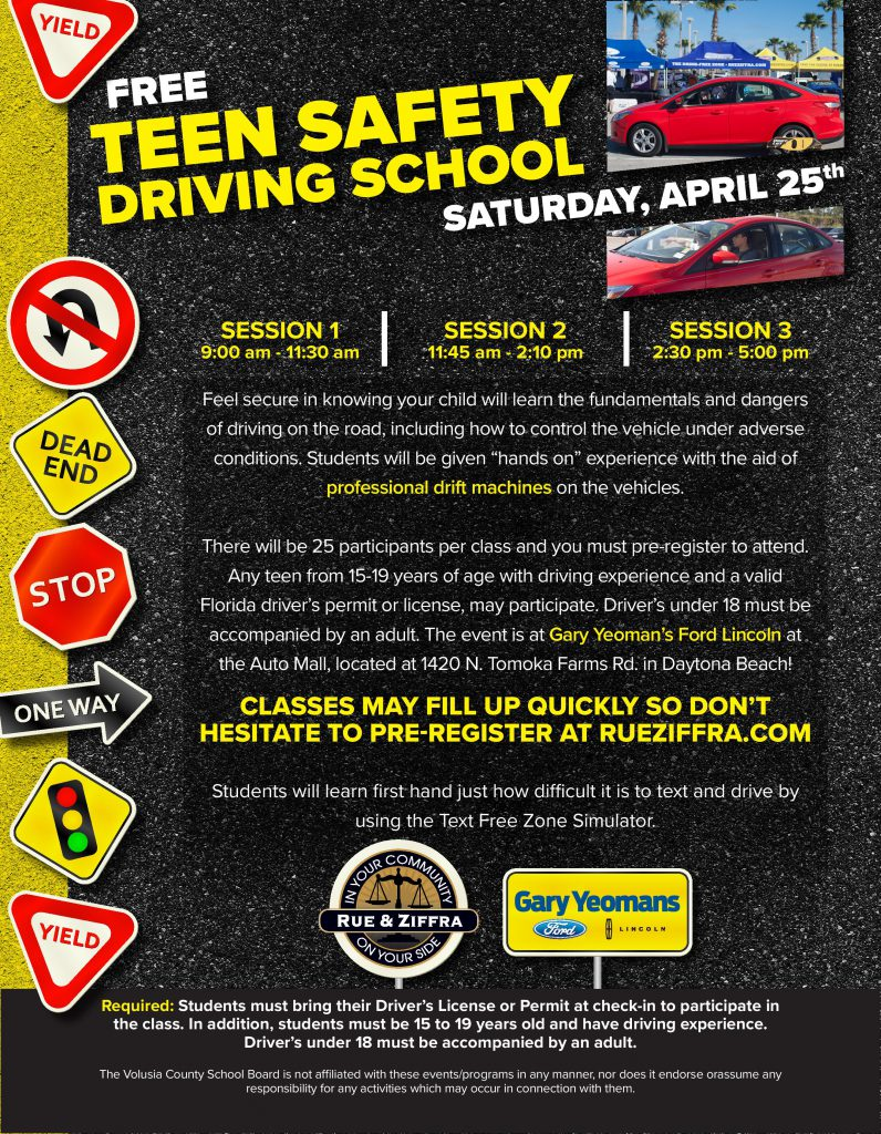 teen safety driving school