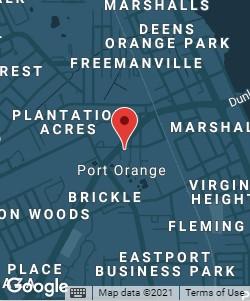 Rue & Ziffra Port Orange office map