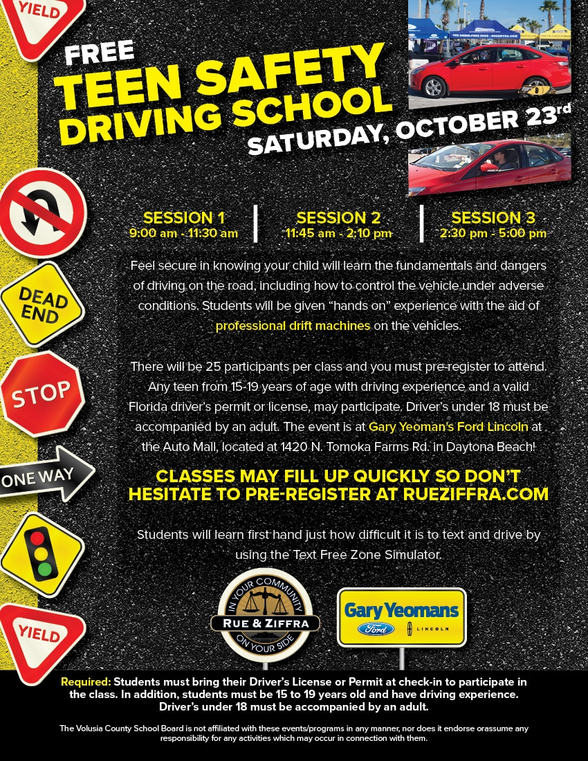 Aug 2021 Teen Safety Driving School